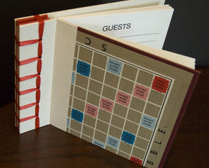 Scrabble Photo Album or Guest Book
