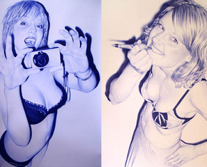 Juan Francisco Casas Bic Pen Art (NSFW)