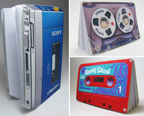 Cassette/Cassette Player Notepads