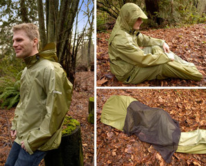 JakPak All-in-One Jacket Sleeping Bag & Tent